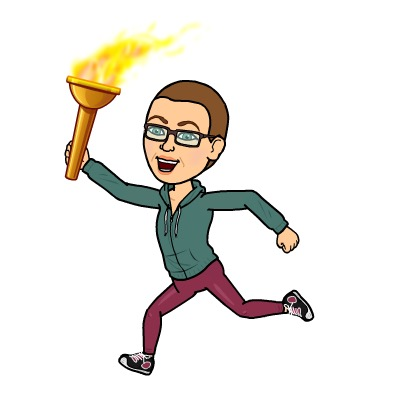 Bitmoji me is ready for the Olympics to start...and ready to take home the gold in my own round of chemo olympics tomorrow.