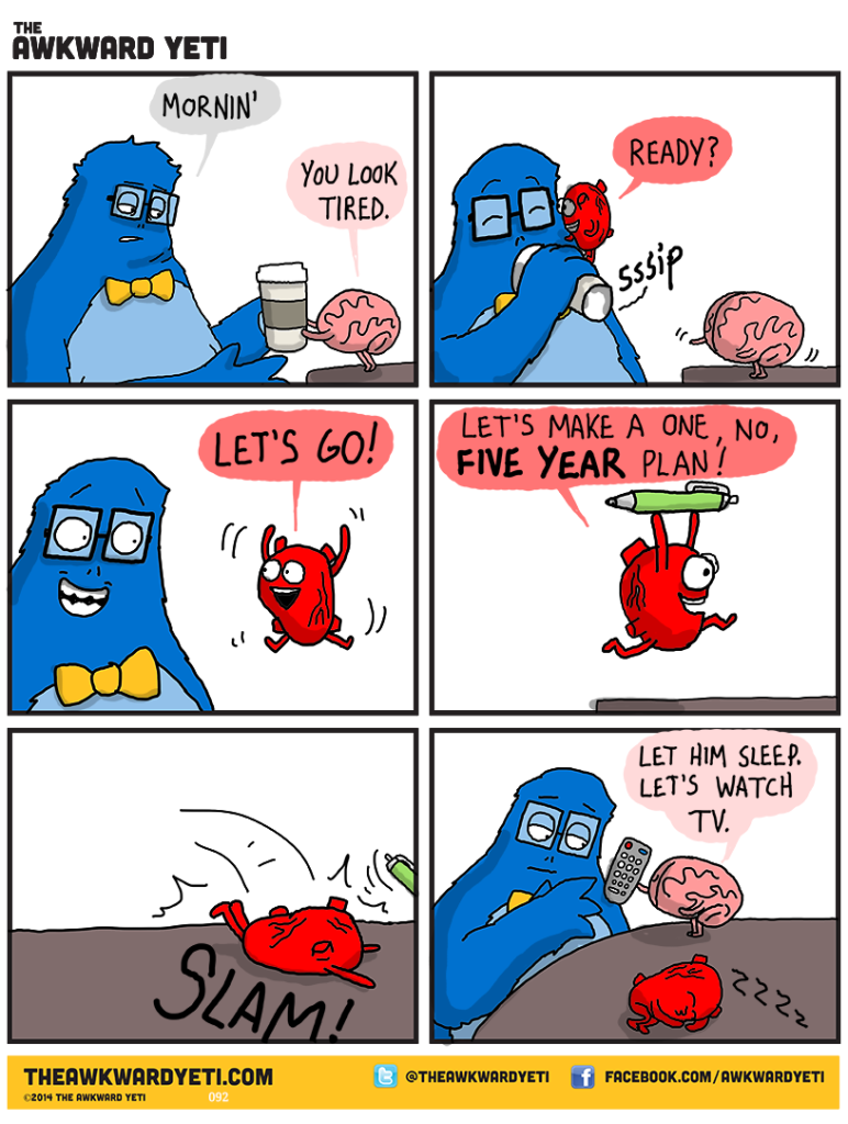 Ackward Yeti: My new favorite comic.